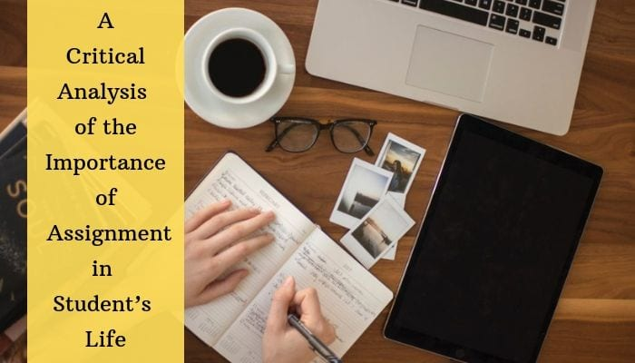Importance of Assignments in Student's life | Global Assignment Help