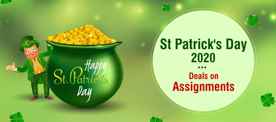 St. Patrick's Day Special Offers | Get Best Deals on Assignment Writing