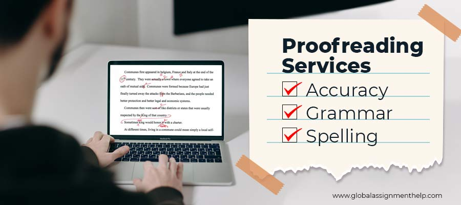 Proofreading Services (1.Accuracy, 2.Grammar, 3.Spelling)