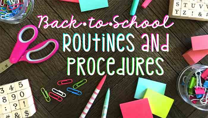 classroom routines