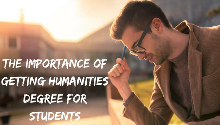 importance of humanities degree