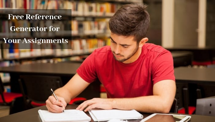 Free Reference Generator For Your Assignments