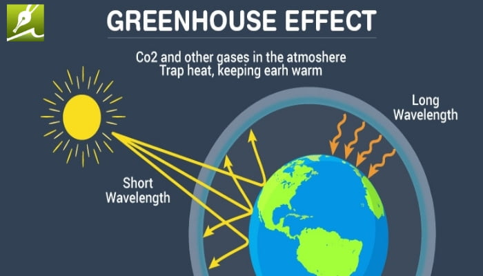 Greenhouse Effect Diagram