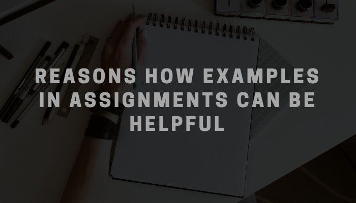 How Examples in Assignments can be Helpful