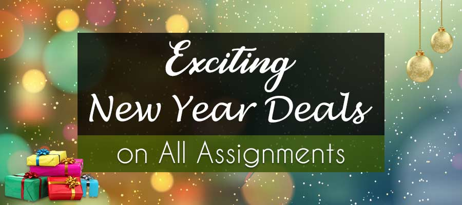 Last Minute New Year Deals on Assignments: Grab Them Before 2020 Begins