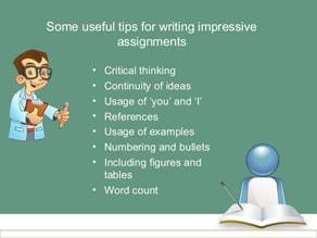 Writing Impressive Assignment