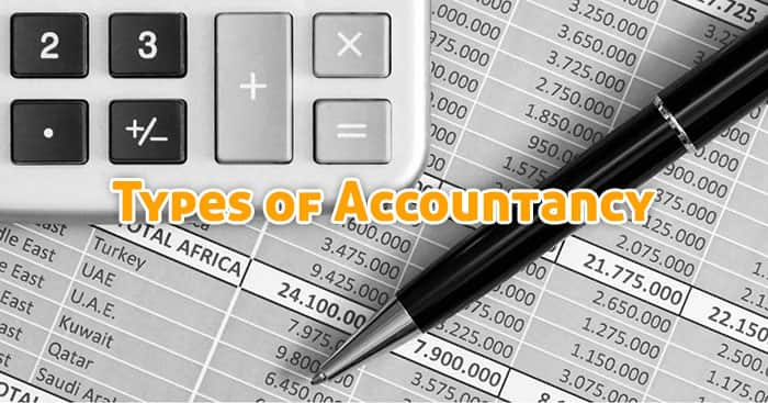 Types of Accountancy
