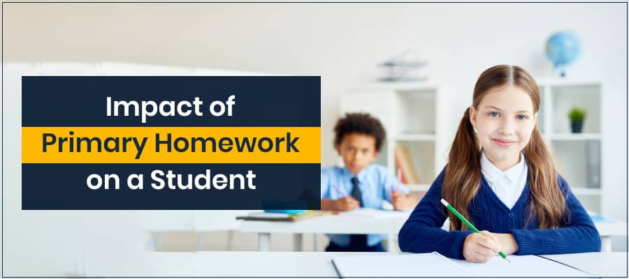 Impact of Primary Homework on a Student