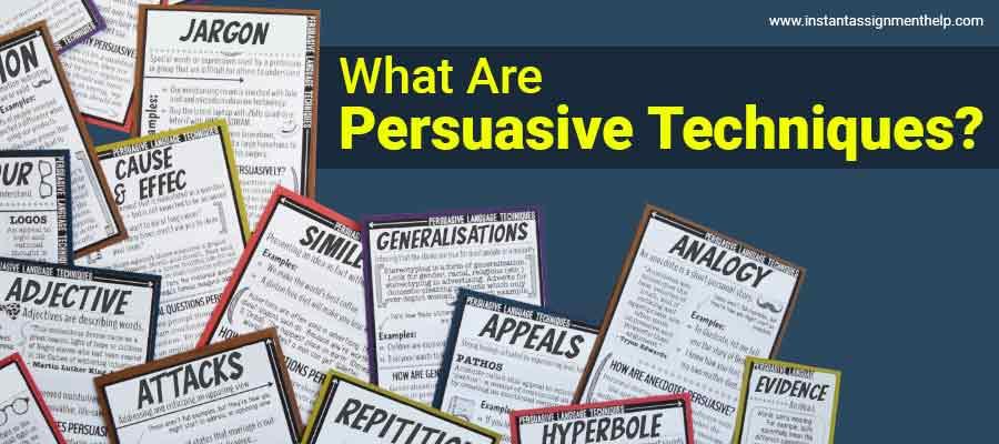 What Are Persuasive Techniques?