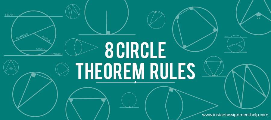 8 Circle Theorem Rules